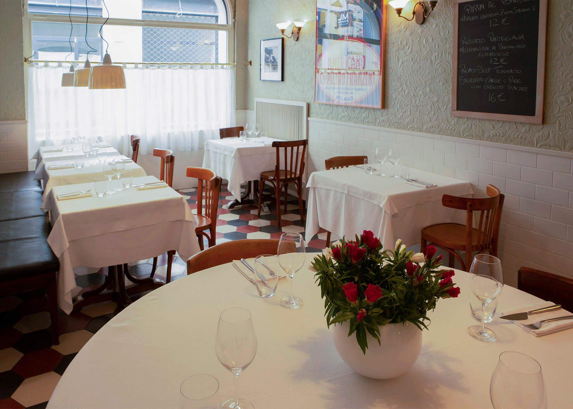 I tavoli del Locatelli Milano